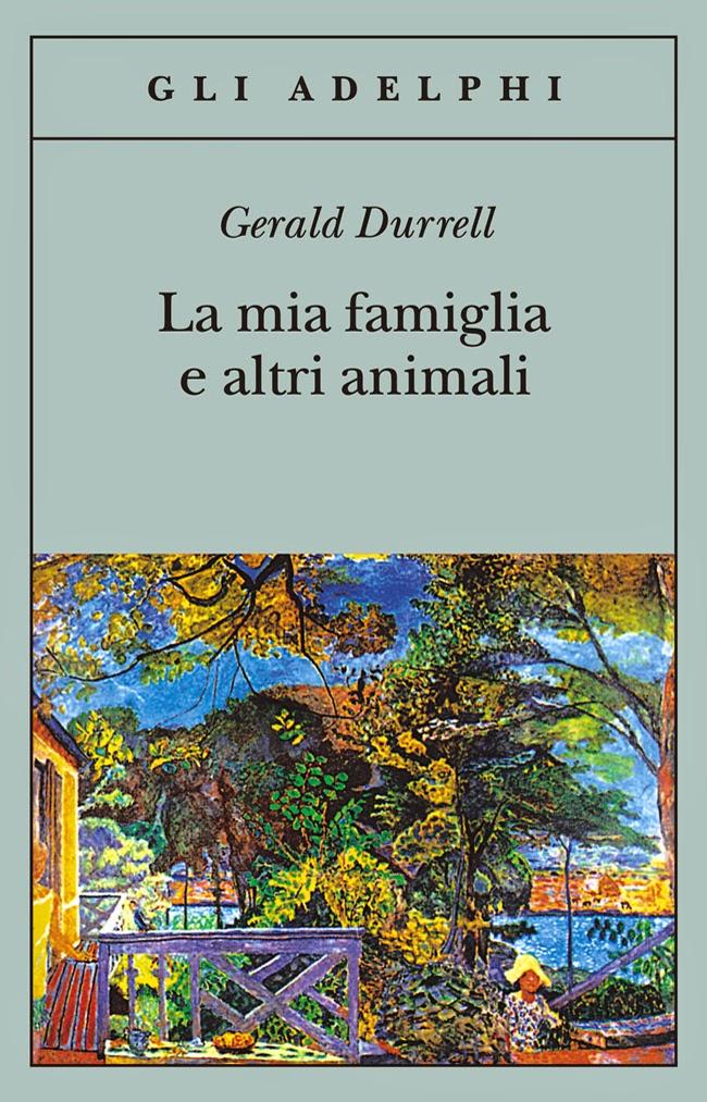 La mia famiglia e altri animali Book Cover