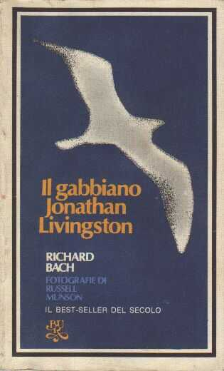 Il gabbiano Jonathan Livingston Book Cover